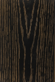 Black and gold oak
