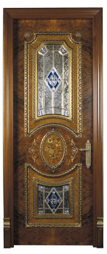 sigegold classic wood door with glass
