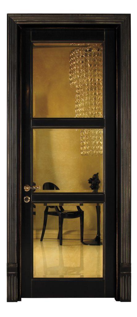 sigegold black door with glass