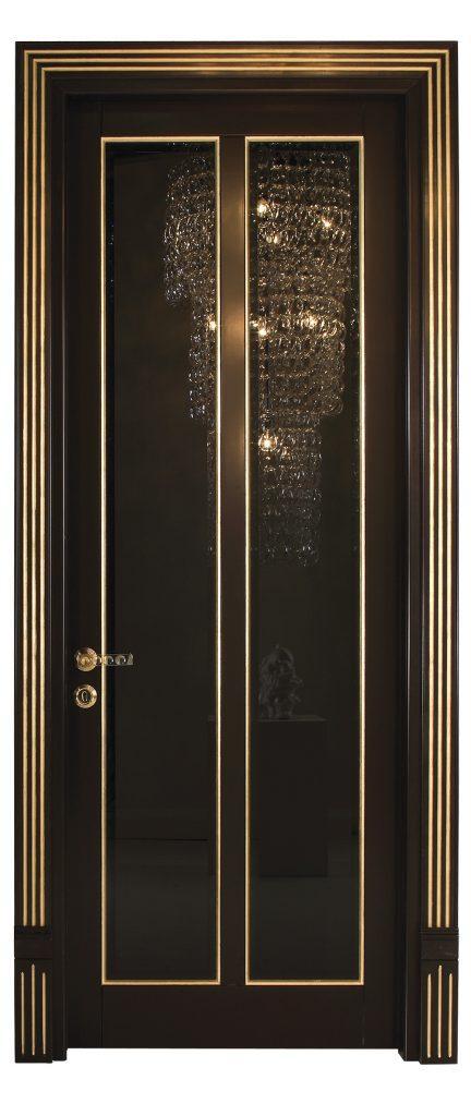 sigegold black door with mirror