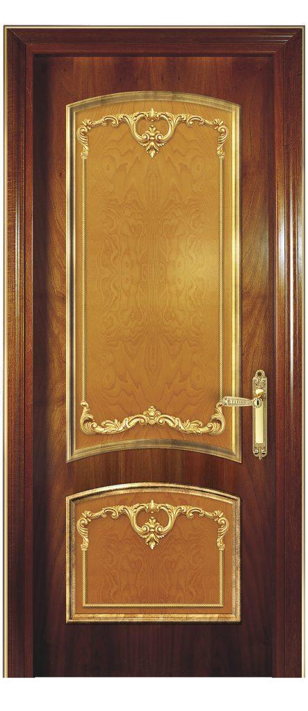 sige gold wooden doors